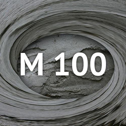 Раствор на песке М-100
