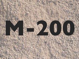 Как использовать отсев М-200