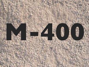 Как использовать отсев М-400