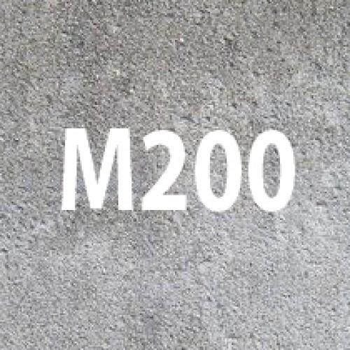 Сфера использования бетона М200